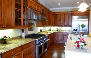 Traditional Kitchen open space
